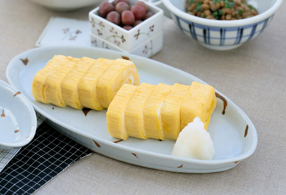 Tamagoyaki japanese side dish