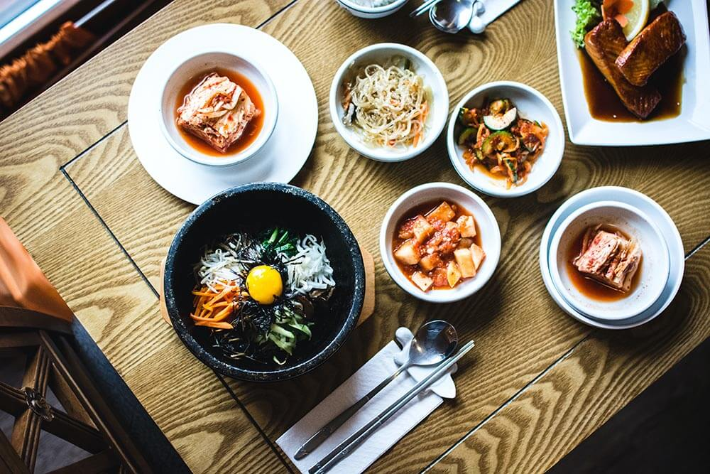 classical korean bibimbap