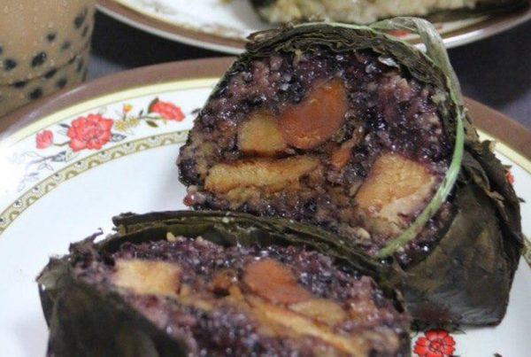 rice dumplings for Dragon Boat's Festival