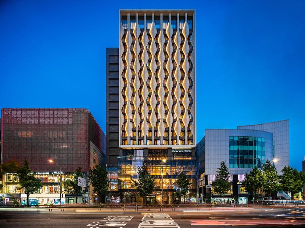 Seoul welcomes all-new Mercure Hotel in the trendy district of Hongdae