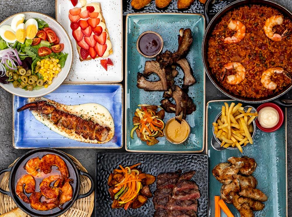 Spanish Restaurant Chain Pura Brasa New Set Menus for Delivery, Takeaway and Dine-in Lunches