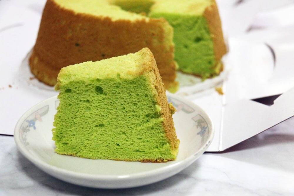 How to make Singapore Pandan Chiffon Cake