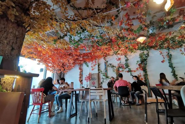 Kreams Cafe in Singapore