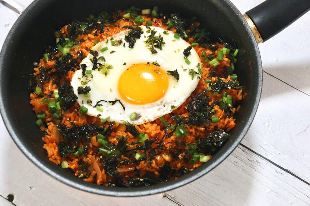 Easy Kimchi Fried Rice Recipe