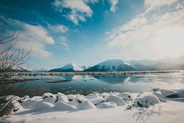 landscape in Alaska