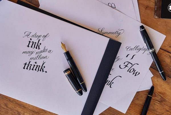Calligraphy with Montblanc