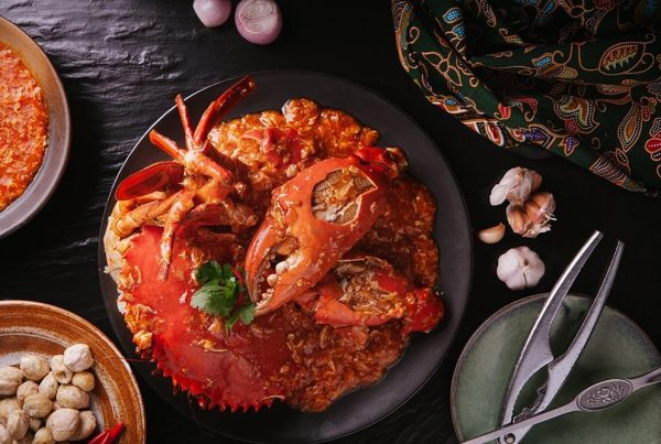 Jumbo seafood chili crab