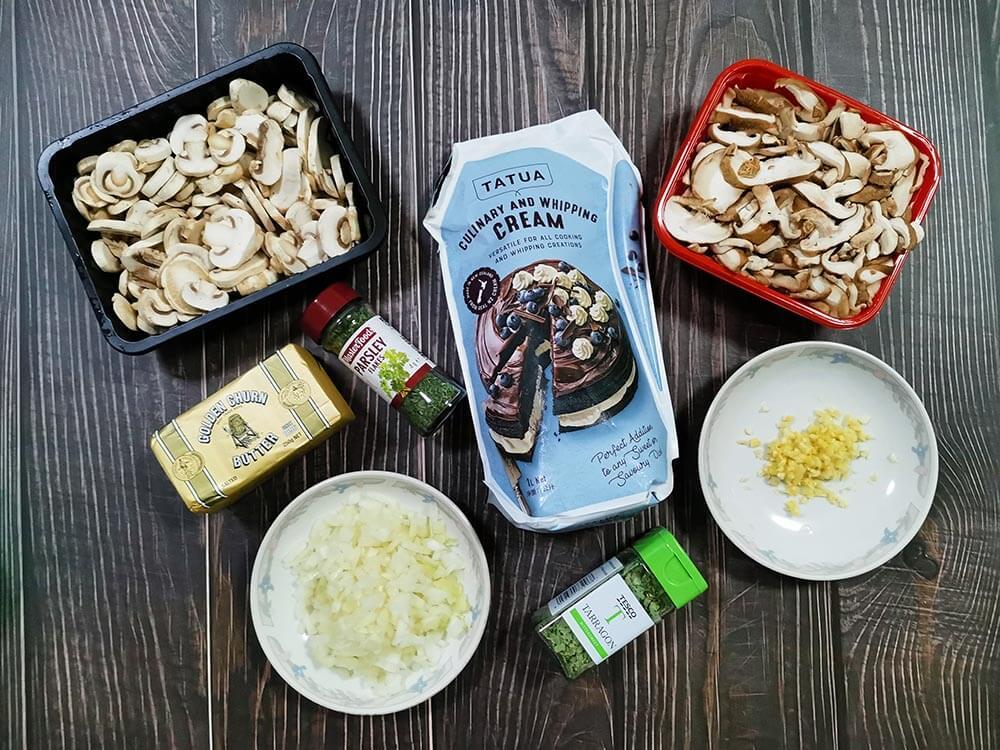 easy mushroom soup recipe