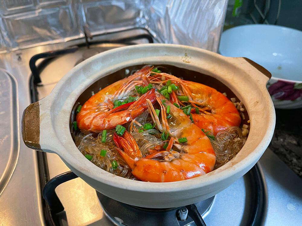 Thai Prawn Vermicelli recipe guide