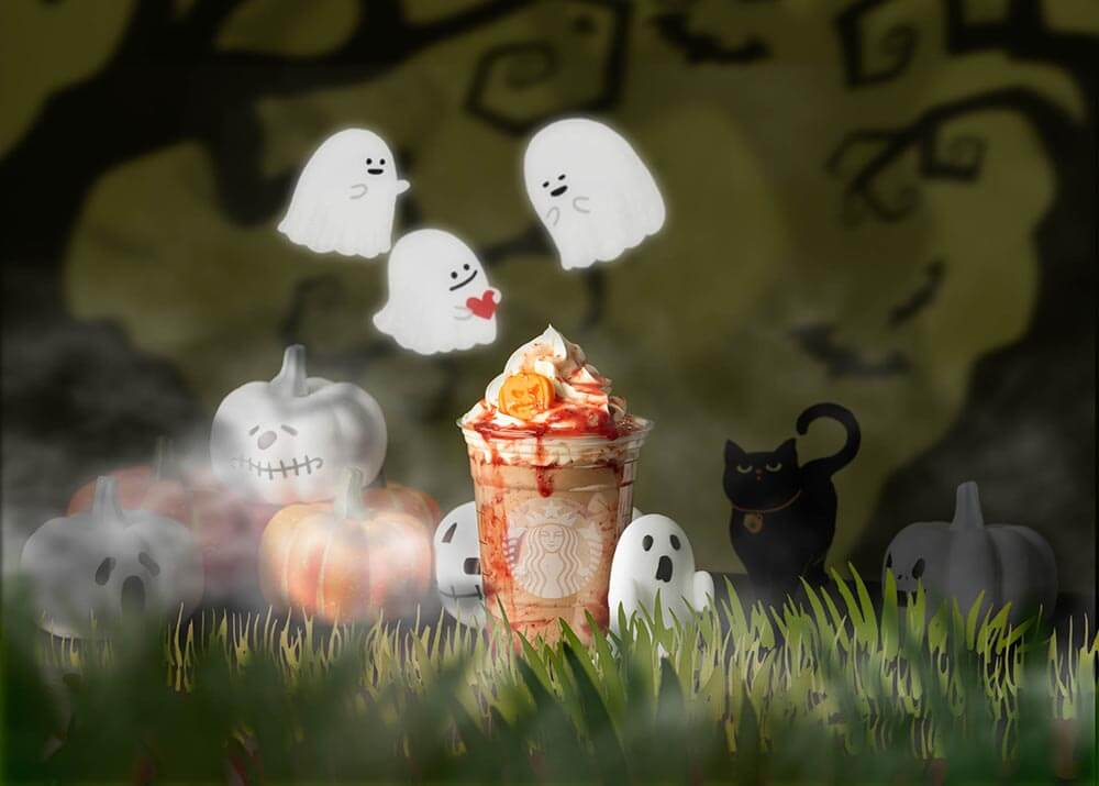 New Spooky-Themed Beverage and Adorable Halloween Collection at Starbucks Singapore